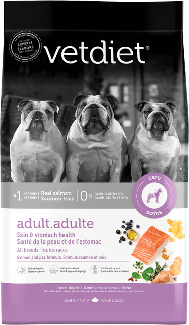 Vetdiet - Adult – Skin & Stomach health. All breeds.