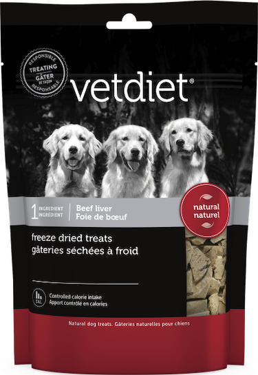 Vetdiet - Freeze dried beef liver