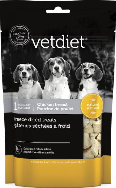 Vetdiet - Freeze dried chicken breast
