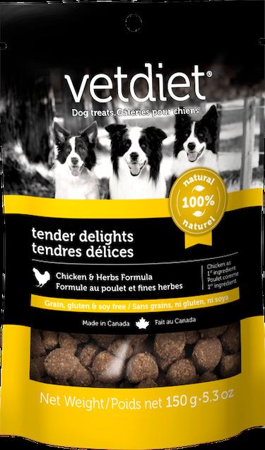 Vetdiet - Tender delights – Chicken & Herbs Formula