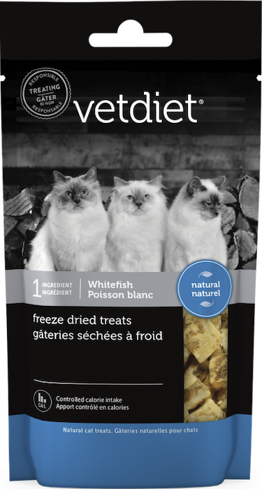 Vetdiet - Freeze dried treats – Whitefish