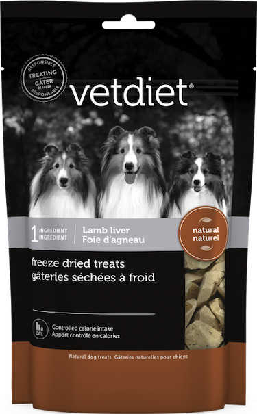 Vetdiet - Freeze dried treats – Lamb liver