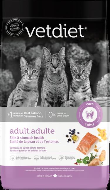 Vetdiet - Adulte – Santé de la peau et de l'estomac