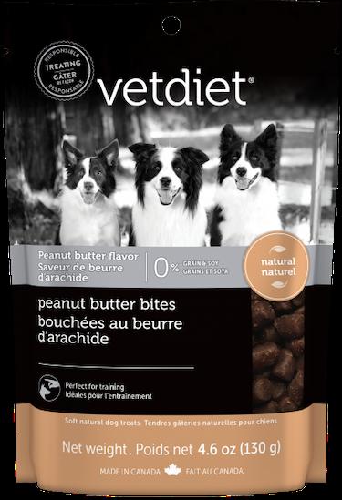 Vetdiet - Bouchées au beurre d'arachide